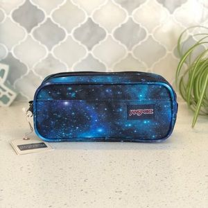 NWT Jansport Large Accessory Pouch - Galaxy